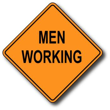Men at work - men working