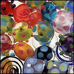 Glass Beads - Lampwork beads and other beads fun to work with.