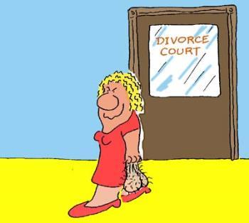 A little divorce humor - Divorce Court