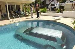 Swimming Car - How did this happen?