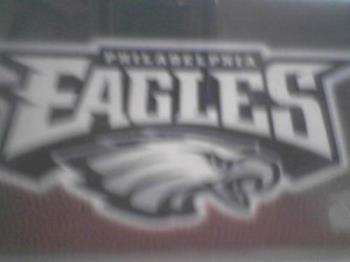 Eagles - The Philadelphia Eagles is my favorite team and have merchandise all over my home.