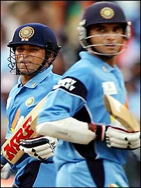 Tendulkar & ganguly -  I love this Pair