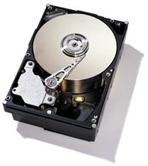 Hard Disk - Picture of a hard disk