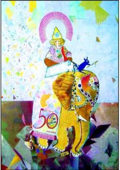 Ganesha - Lord Ganesha is worshipped everywhere in the world and good number of people adore him.