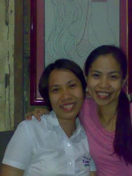 with my best friend - taken with my bestfriend for 12 years now.