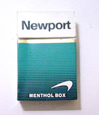 Newports - smoking is bad for you, I'm trying to quit!