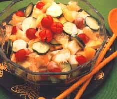fruit salad - tropical fruit salad