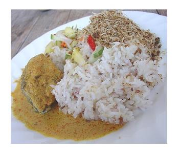 Nasi Dagang - Nasi Dagang is one of the famous food in Malaysia.