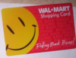 walmart - walmart gift card