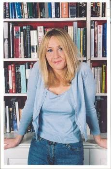 j.k. rowling - the author of the bestselling harry potter