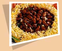 rajma chawal - its really yum