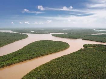 delta - delta , a place where river meets sea