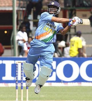 Dhoni hitting six - dhoni is great batsmen