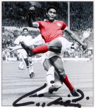Eusébio da Silva Ferreira - Eusébio da Silva Ferreira, greatest portuguese football player