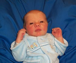 my great grandson - This is my great grandson, I am so glad his mother doesn't believe in abortion.