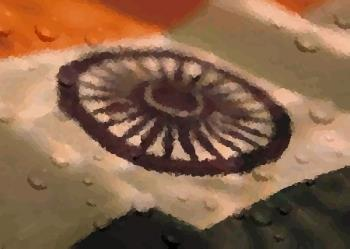 Indian flag - A picture of indian flag