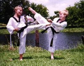 Tae Kwon Do - Original martial art from korea that mostly use leg for offence