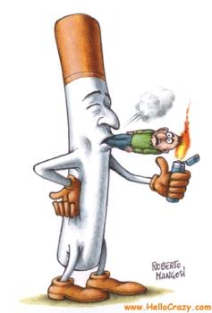 Smoking kills - Who's smoking who??