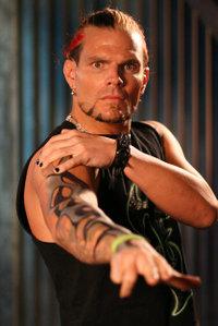 """Jeff Hardy - Jeff Hardy - WWE """"high-flying"""" wrestler."""