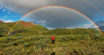 Rainbow - Double alaskan rainbow
