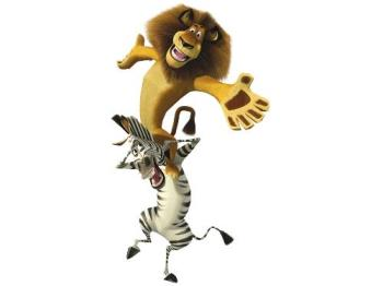 Madagascar - Madagascar characters 'Alex' and 'Martin'