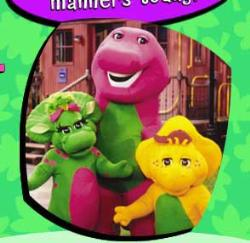 Barney  -  Barney the dinosur with friends