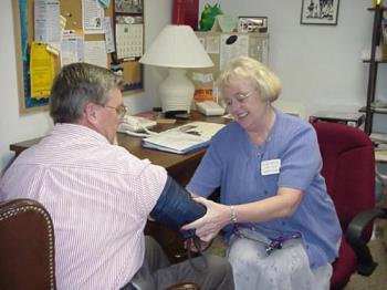 nurse - nurse with a patient