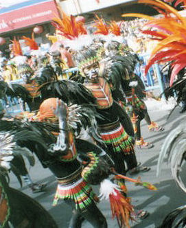 dinagyang festival - A snapshot of one of the most famous festival in the Philippines