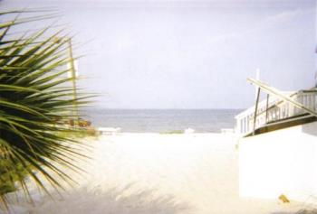 Beach in Florida - A picture I took of Quiet Water Beach Florida at the sound - across from Pensecola Beach.