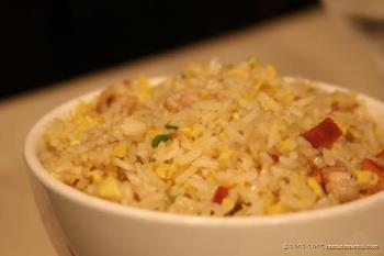 fried rice - a dish of fried rice