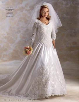 wedding dress - Wedding dress with bouquet