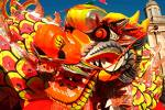 long live chinese new year lol.. - lion  dance.mmmmmmmm