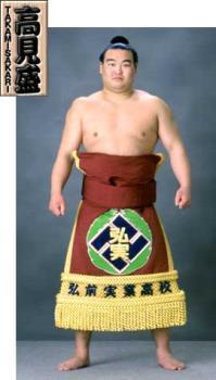 Maegashira Takamisakari - Takamisakari Heya : Azumazeki Name : Seiken Kato Ring Name History : Kato - Takamisakari Date of Birth : May 12, 1976 Place of Birth : Aomori Height : 188.0cm Weight : 140.0kg Career Record : 324-283-41 Makuuchi Division Career Record : 229-240-11 Juryo Division Championships : 1 Outstanding Performance Award : 1 Fighting Spirit Prize : 2 Technique Prize : 2 Kinboshi : 2 Favorite Grip/Techniques : migi-yotsu/yori