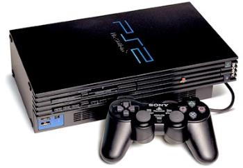 Original PS2  - Original PS2 with controller.