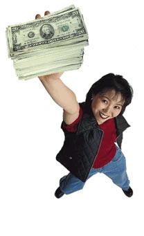Getting earnings - Making cash