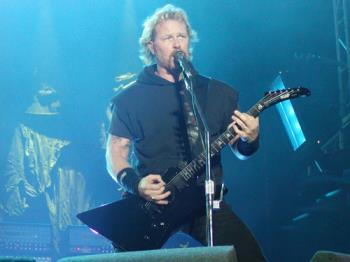 James Hetfield from Metallica - The vocalist and founder of Metallica