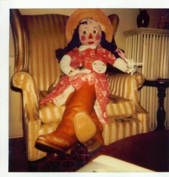 Audrey - Our life-size doll Audrey