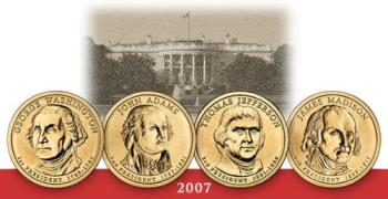 2007 Presidential $1 coins - Look pretty neat and I look forward to collecting them!!