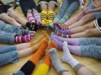 socks - All types of people and their different types of socks that they like to wear.