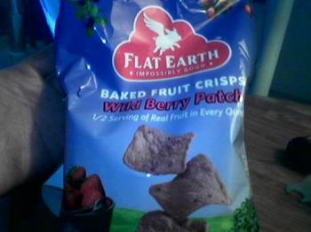 Baked Fruit Crisps - I just found out today about these Fruit Crisps. They have several flavors of this and these snacks are pretty healthy and they taste really good.