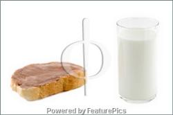 bread and milk is the best - bread and milk