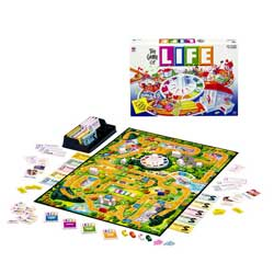 The Game of Life - The Game of Life is a classic Milton Bradley board game that you can now play on PC. In this game the object is to pick a good career, try to get the highest salary possible, and end the game with the highest net worth