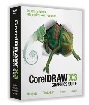 Corel Draw X3 - Corel Draw X3 graphic Suite