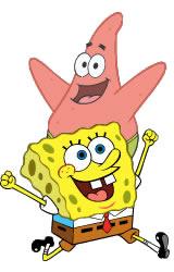 Spongebob! - Spongebob is the best! Oh and Patrick too!