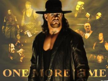 The Legend ~ The Phenom ~ The Undertaker - Well here is a pic of my favourite wrestler in the wwe.