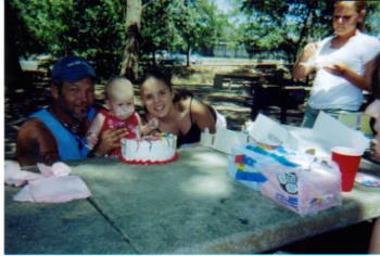 First Birthday - This was taken at the park during my youngest daughters first birthday.