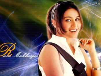 a photo of rani mu - a photo of rani mukherjee