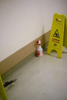 Dirty Hospitals - Dirty Hospitals. Cleaning solution but nobody to clean
