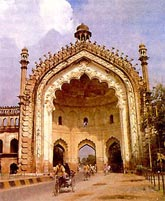 people of lucknow does not know about hospitality - roomi gate of bara imambara in lucknow