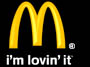 logo for McDonalds - Mc Donalds is know round the world by its golden arches. It employs high school age students, and also people who have disabilities, but the wages remain low.